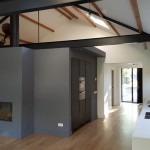 Binnenschilderwerken stukadoor en latex schilderwerkzaamheden oude schuur en nieuwe woning