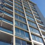 Latex verwijderen plafonds appartementencomplex