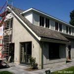 Voorbereiding schilderen particulier huis