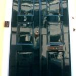 Perfecte afwerking na schilderwerken dubbele deur