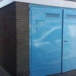 Schilderen van metalen deuren