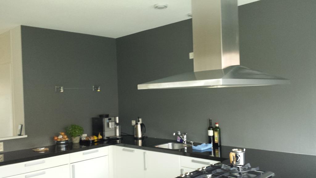 Keuken wit hoogglans muurverf gehoor geven aan uw huis - Keuken wereld thuis ...