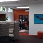 Wanden en plafonds schilderen binnen bedrijf